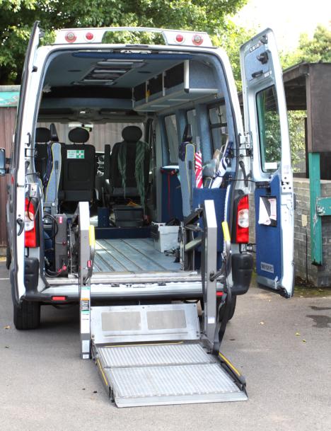 medical transportation van